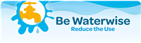 Be Waterise Reduce the Use banner