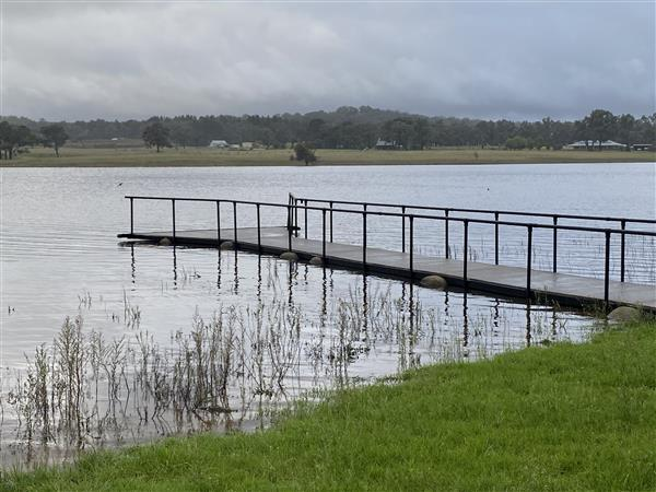 MEDIA PIC_1_Storm King Dam Jetty 6pm Wed 24 March 20