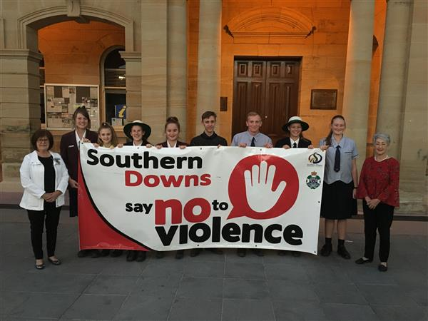 Youth Leaders Say no to Violence