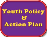 Youth policy and action plan button