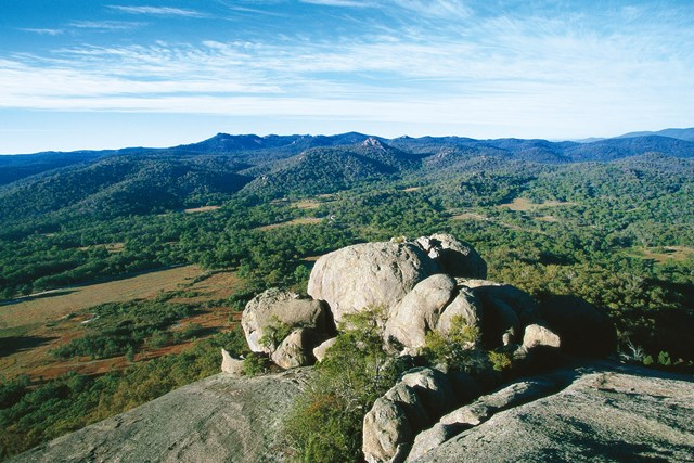 Granite Belt Mountain Landscape