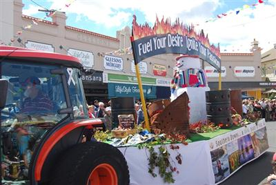 Apple and Grape Festival - SDRC float