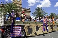 Rodeo parade display Allora Show Society