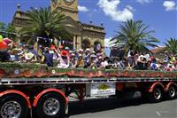 Rodeo parade truck