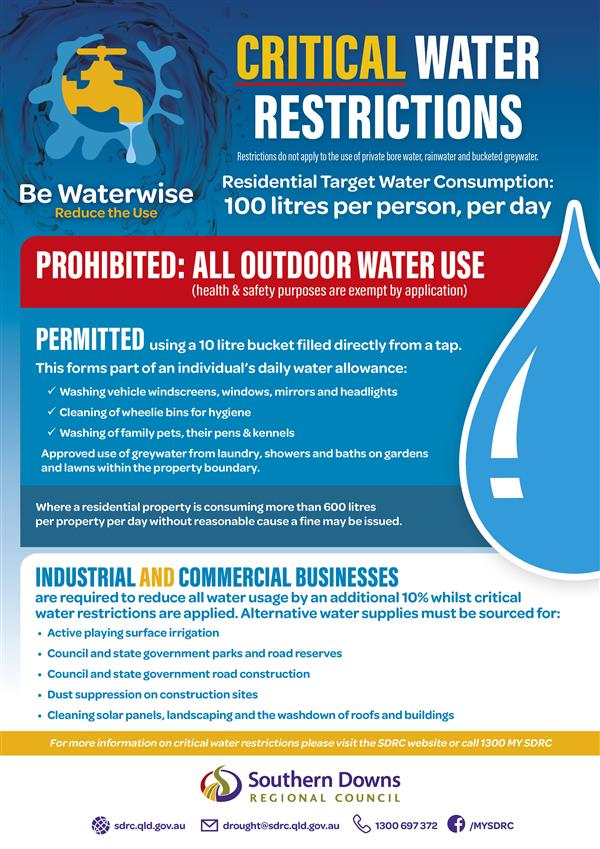 SDRC Critical Water Restrictions_A4 Flyer_WEB