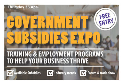 Businesses_Government Subsidies Expo A5 Flyer